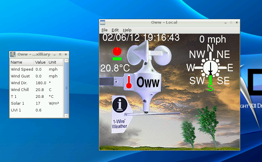 Oww running on Raspberry Pi under LXDE
